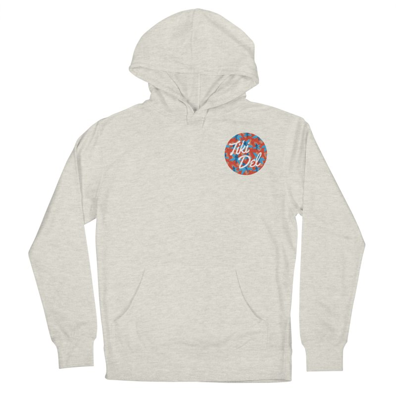 P.I. Men's French Terry Pullover Hoody by Tiki Del