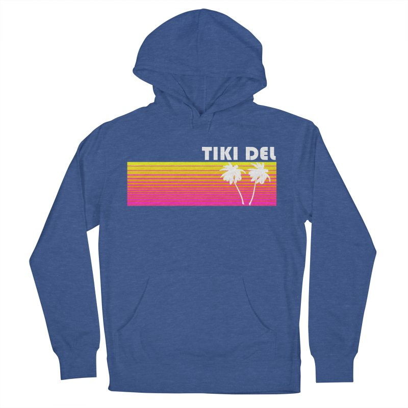 EIGHTY Men's French Terry Pullover Hoody by Tiki Del