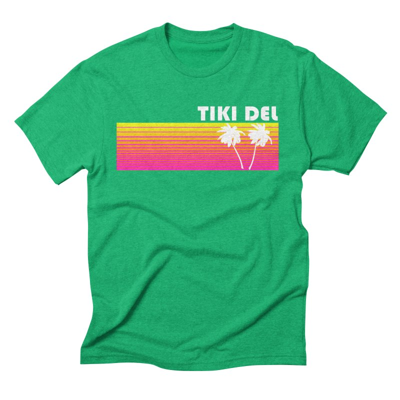EIGHTY Men's Triblend T-Shirt by Tiki Del
