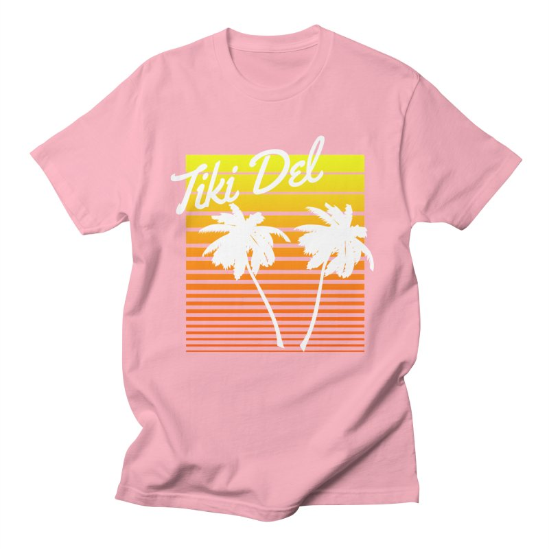 SPRING BROKE Men's Regular T-Shirt by Tiki Del