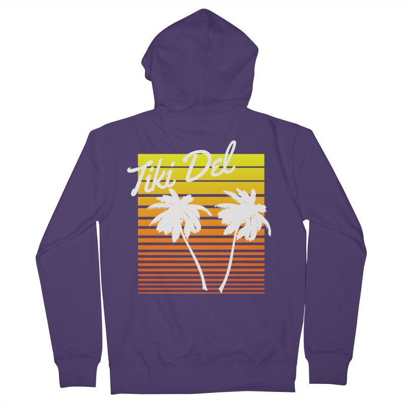 SPRING BROKE Women's French Terry Zip-Up Hoody by Tiki Del