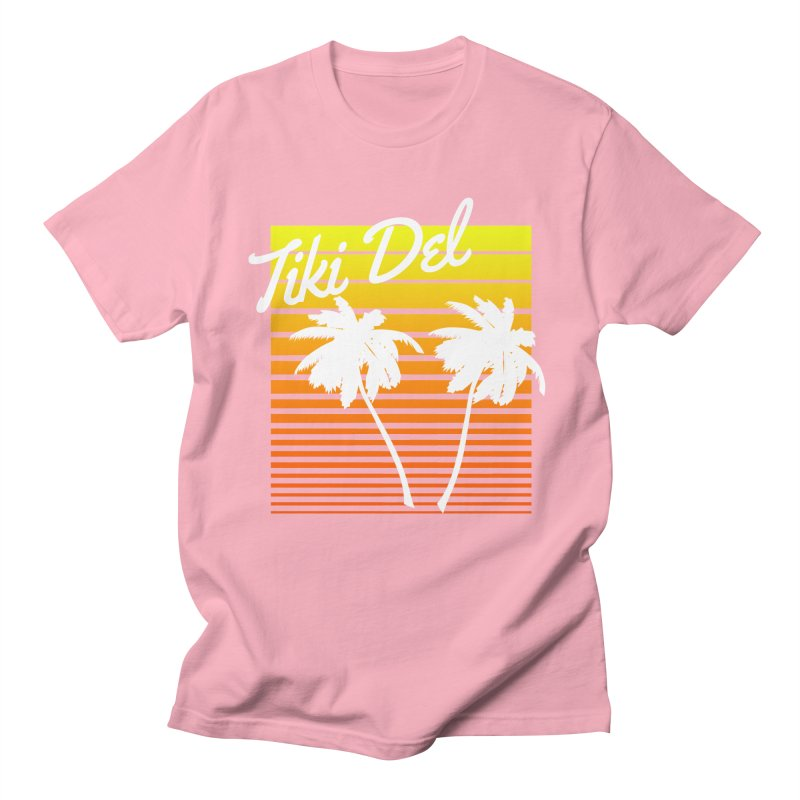 SPRING BROKE Men's Regular T-Shirt by Tiki Del