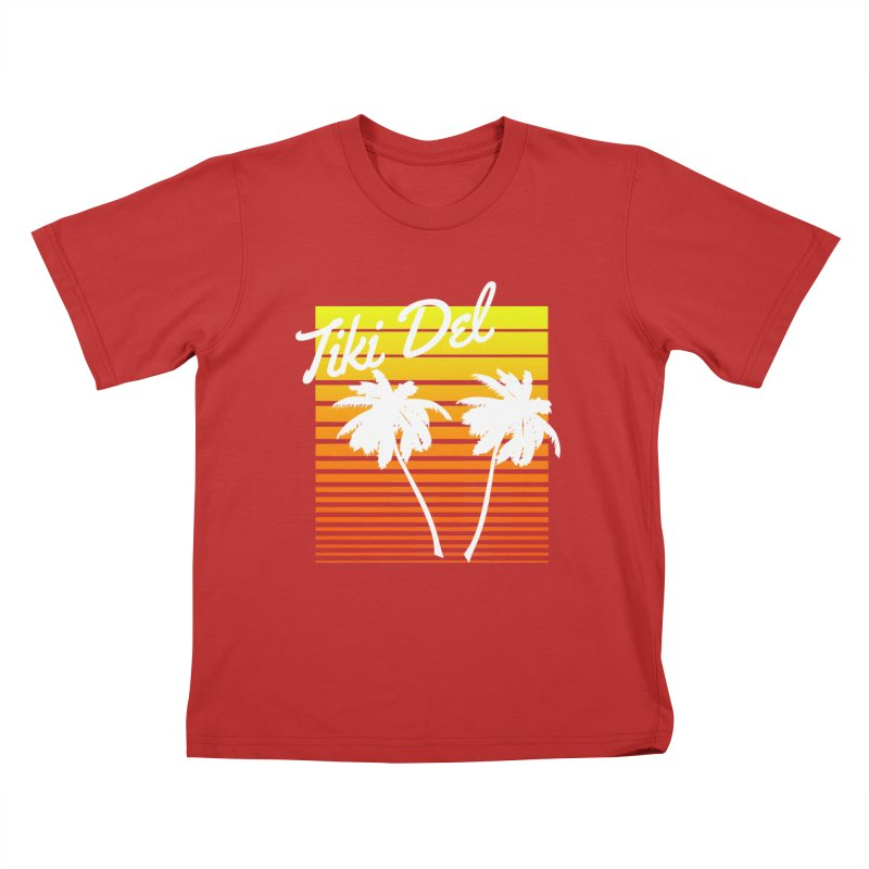 SPRING BROKE Kids T-Shirt by Tiki Del