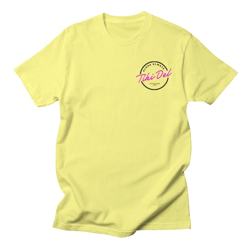 COCKTAIL Men's T-Shirt by Tiki Del