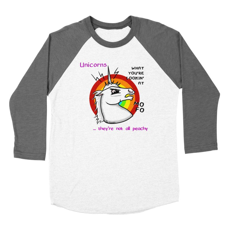 Unicorn (not peachy) Women's Longsleeve T-Shirt by Timhupkes's Artist Shop