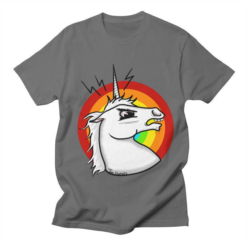 Angry unicorn Men's T-Shirt by Timhupkes's Artist Shop