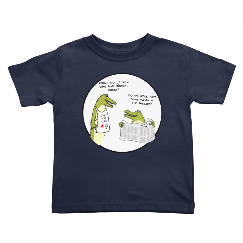 A croc's dinner Kids Toddler T-Shirt by Timhupkes's Artist Shop
