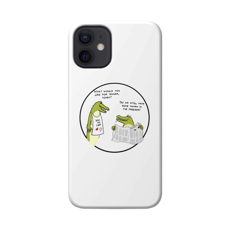 A croc's dinner Accessories Phone Case by Timhupkes's Artist Shop