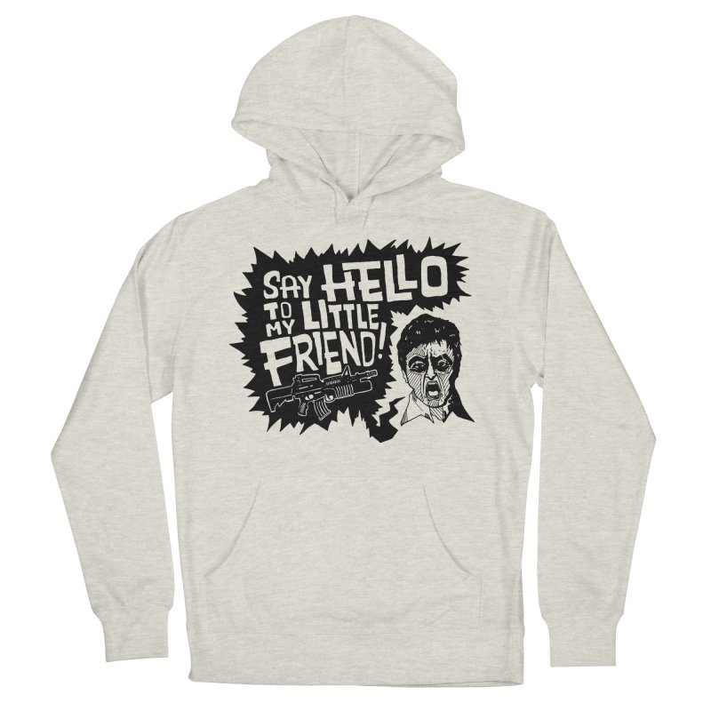 Scarface Men's French Terry Pullover Hoody by Timo Ambo