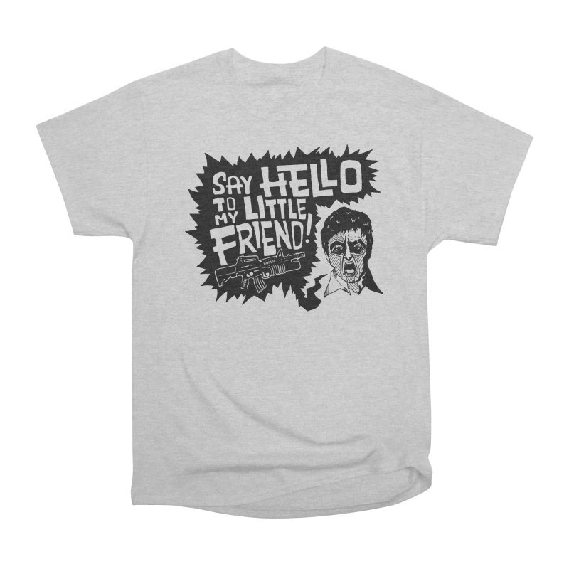 Scarface Men's Heavyweight T-Shirt by Timo Ambo