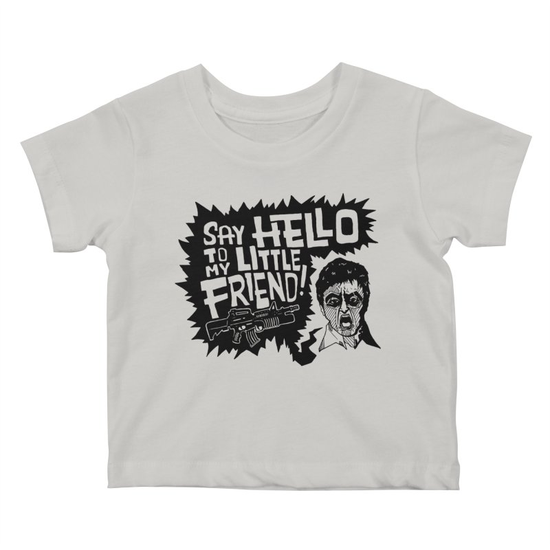 Scarface Kids Baby T-Shirt by Timo Ambo
