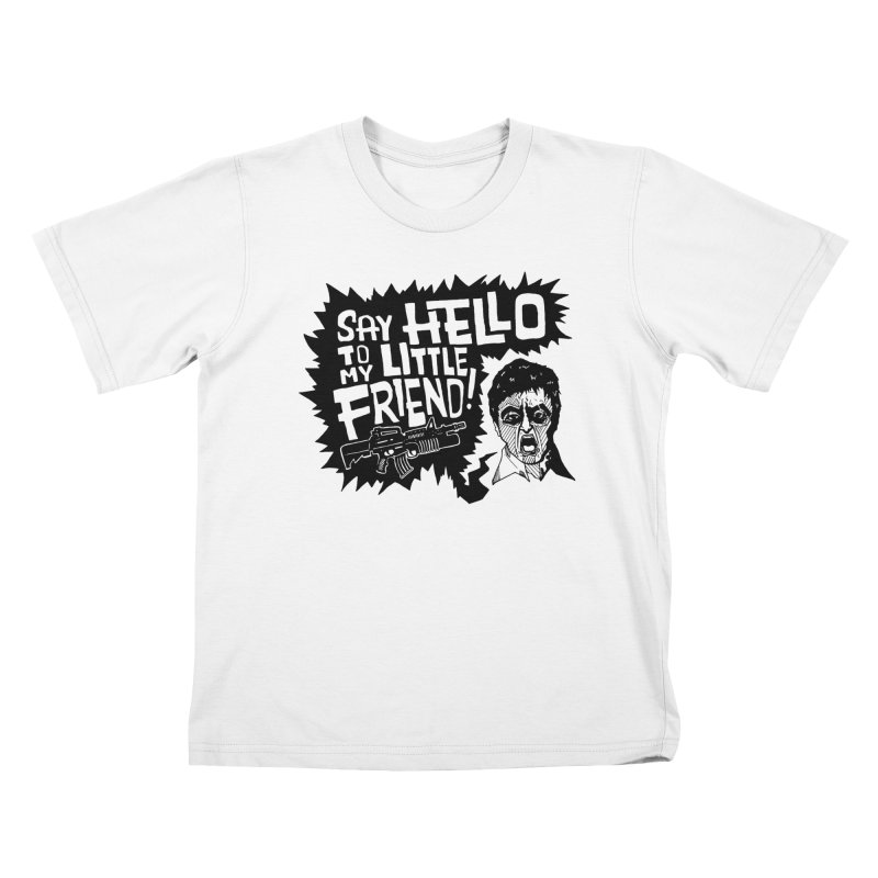 Scarface Kids T-Shirt by Timo Ambo