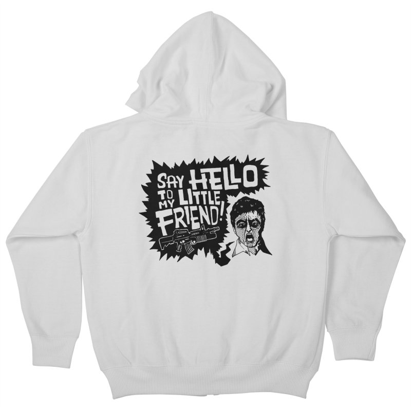 Scarface Kids Zip-Up Hoody by Timo Ambo