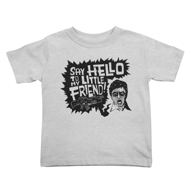 Scarface Kids Toddler T-Shirt by Timo Ambo