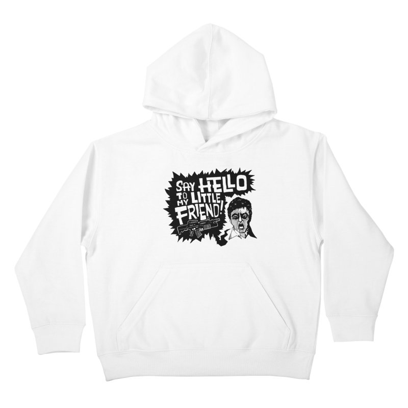 Scarface Kids Pullover Hoody by Timo Ambo