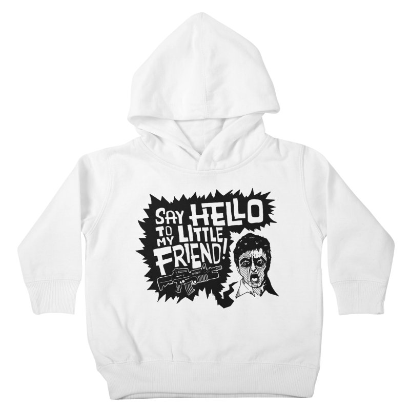Scarface Kids Toddler Pullover Hoody by Timo Ambo