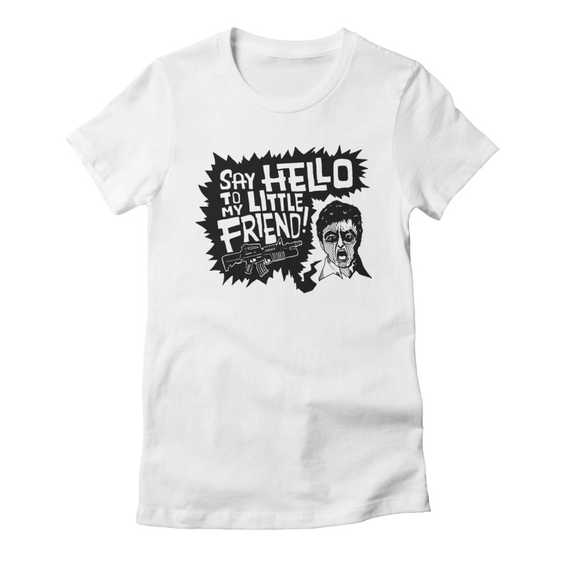 Scarface Women's Fitted T-Shirt by Timo Ambo