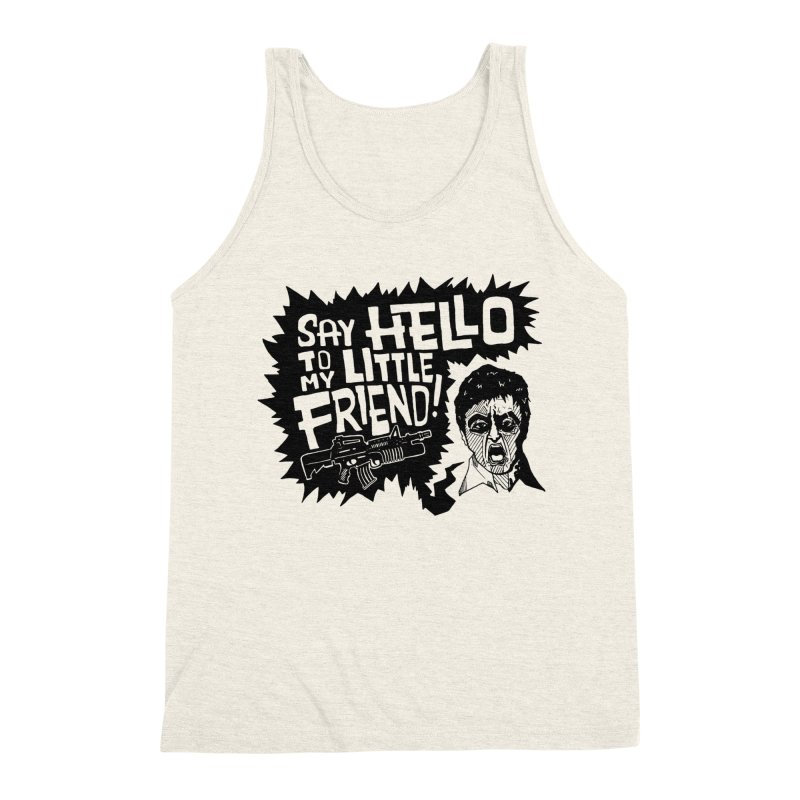 Scarface Men's Triblend Tank by Timo Ambo