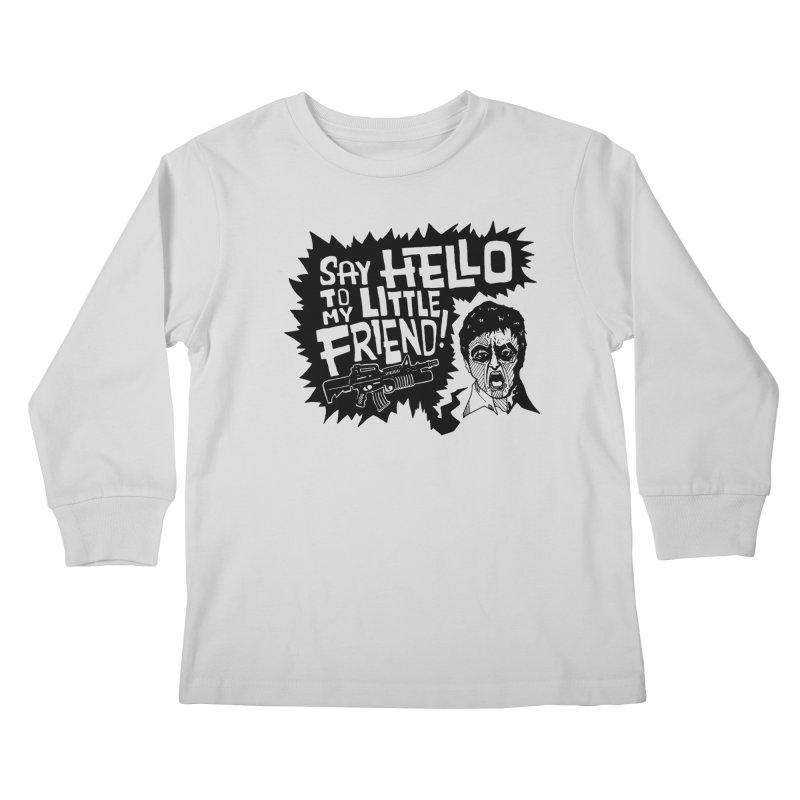 Scarface Kids Longsleeve T-Shirt by Timo Ambo