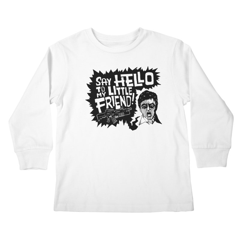 Scarface Kids Longsleeve T-Shirt by Timo Ambo