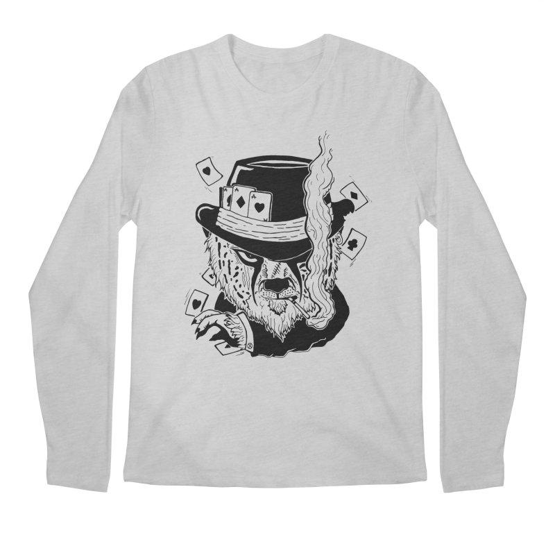 Cheat'n Cheetah Men's Longsleeve T-Shirt by Timo Ambo