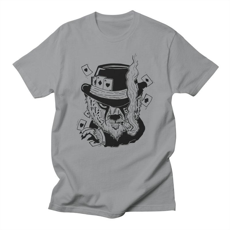 Cheat'n Cheetah Men's T-Shirt by Timo Ambo