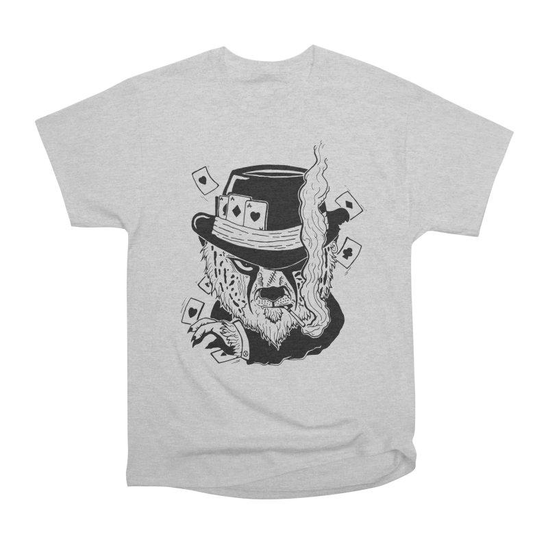 Cheat'n Cheetah Men's Heavyweight T-Shirt by Timo Ambo