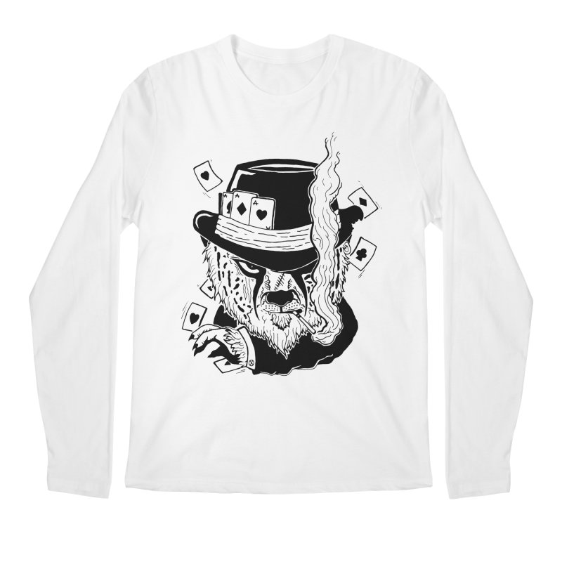 Cheat'n Cheetah Men's Longsleeve T-Shirt by Timo Ambo