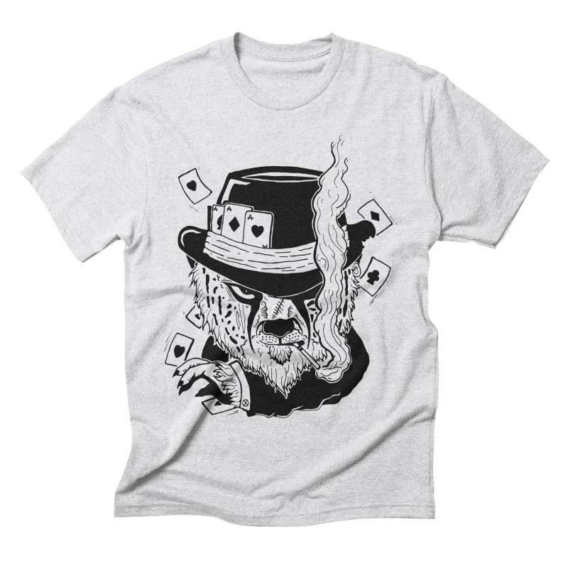 Cheat'n Cheetah Men's Triblend T-shirt by Timo Ambo