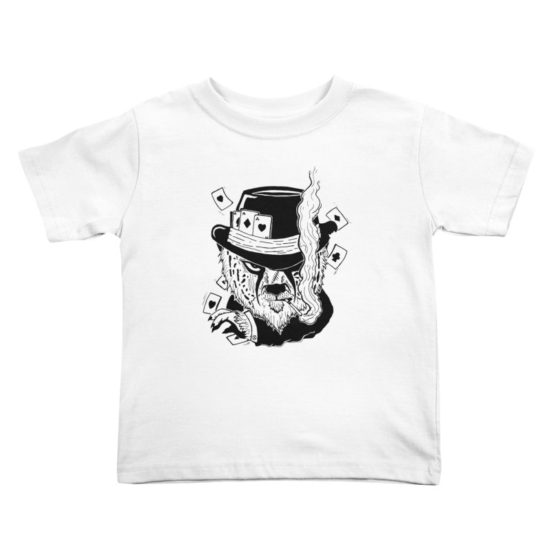Cheat'n Cheetah Kids Toddler T-Shirt by Timo Ambo