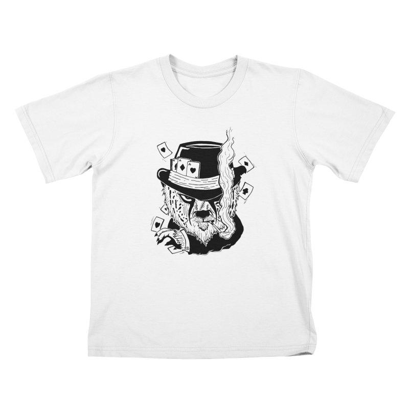 Cheat'n Cheetah Kids Toddler T-Shirt by Timo Ambo