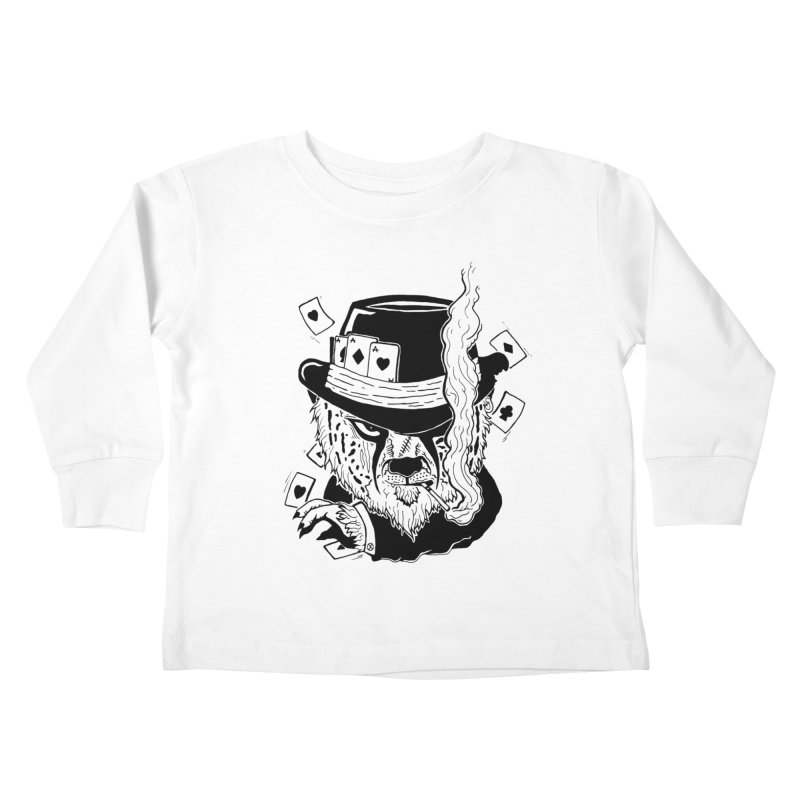 Cheat'n Cheetah Kids Toddler Longsleeve T-Shirt by Timo Ambo