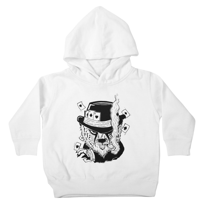 Cheat'n Cheetah Kids Toddler Pullover Hoody by Timo Ambo
