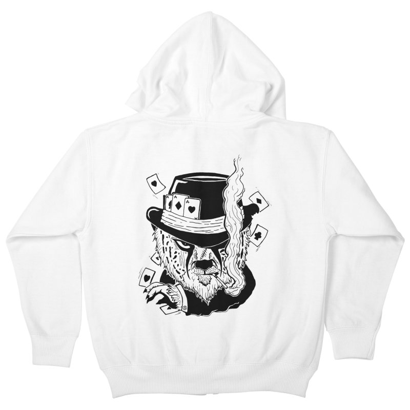Cheat'n Cheetah Kids Zip-Up Hoody by Timo Ambo