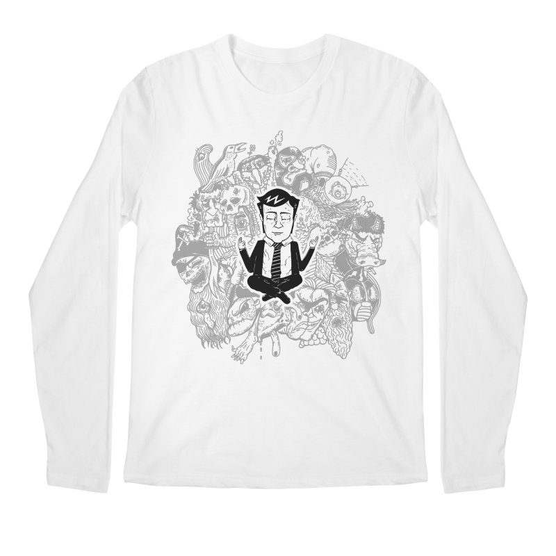 Homeostasis Men's Regular Longsleeve T-Shirt by Timo Ambo