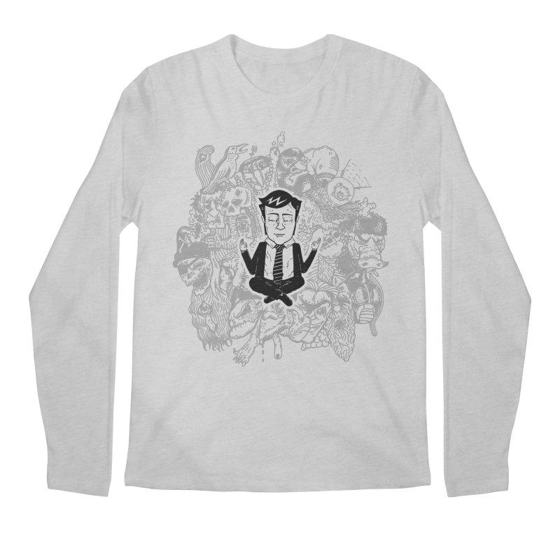 Homeostasis Men's Regular Longsleeve T-Shirt by Timo Ambo