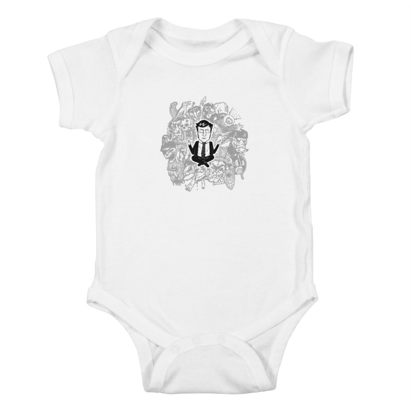 Homeostasis Kids Baby Bodysuit by Timo Ambo