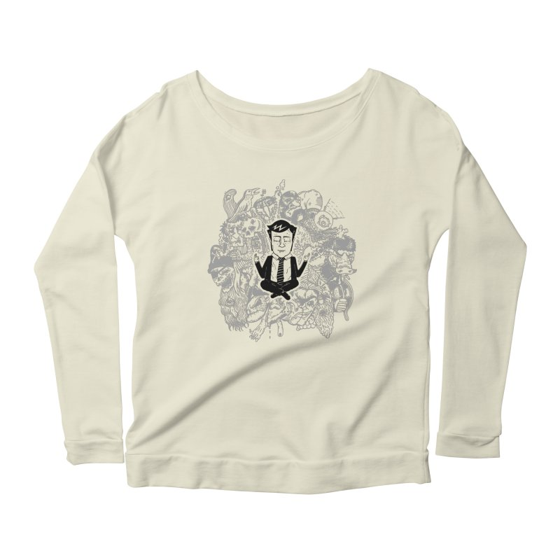 Homeostasis Women's Scoop Neck Longsleeve T-Shirt by Timo Ambo