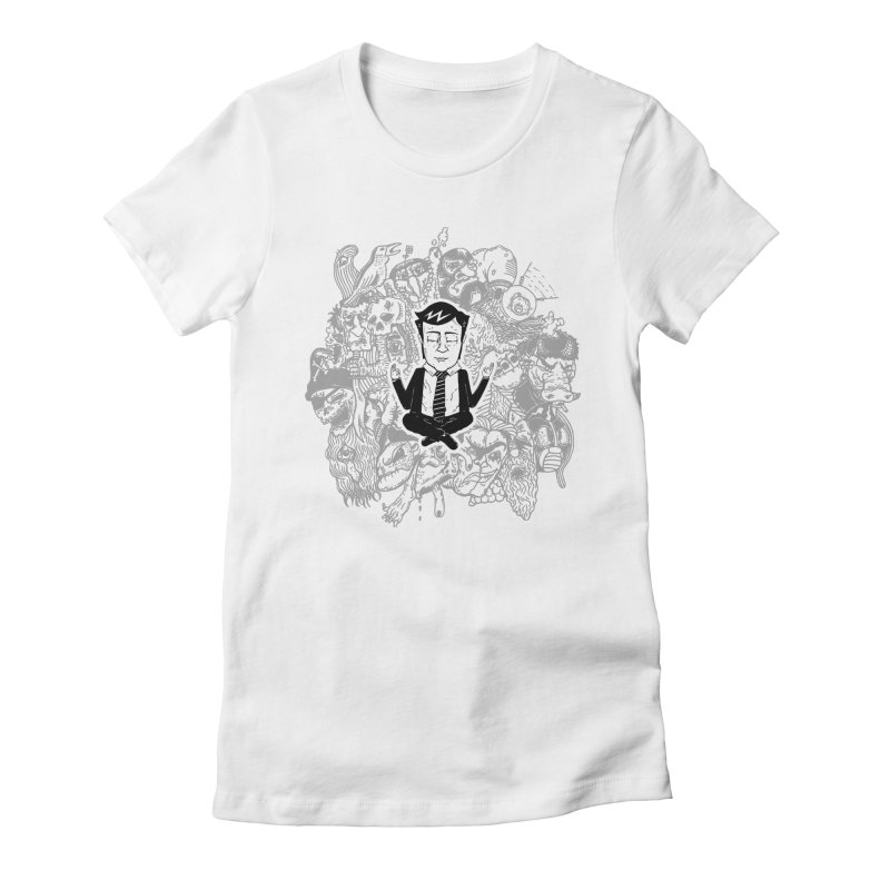 Homeostasis Women's Fitted T-Shirt by Timo Ambo