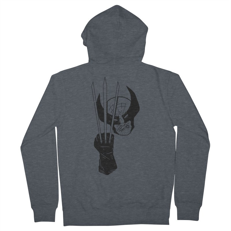 Let's go bub! Men's Zip-Up Hoody by Timo Ambo