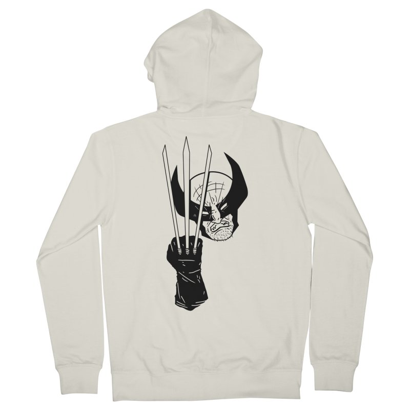 Let's go bub! Men's French Terry Zip-Up Hoody by Timo Ambo
