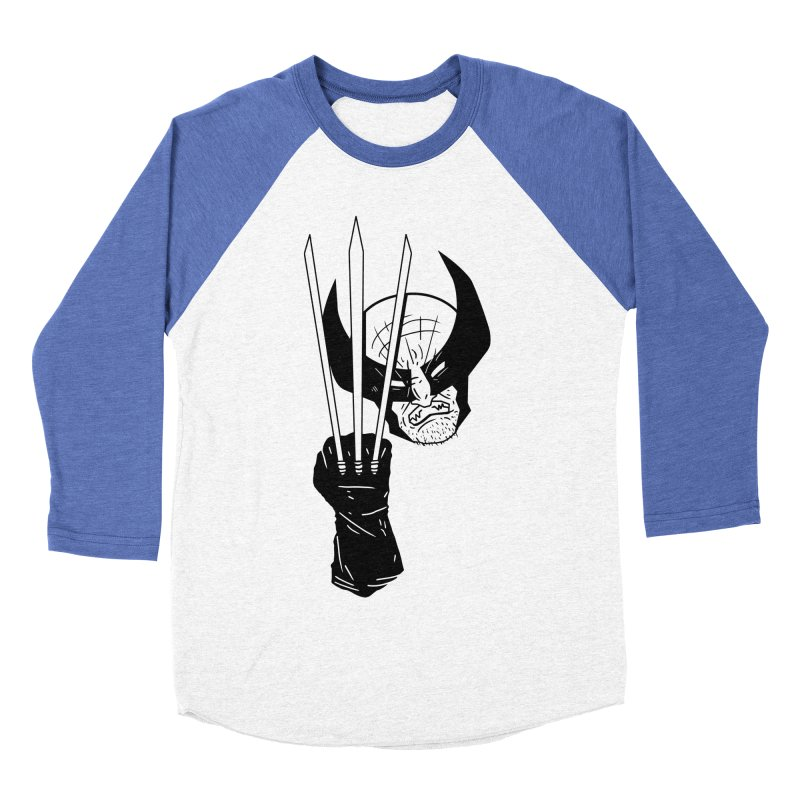 Let's go bub! Women's Baseball Triblend T-Shirt by Timo Ambo