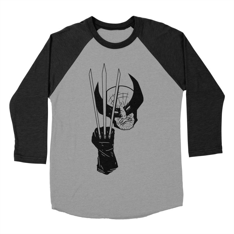 Let's go bub! Men's Baseball Triblend T-Shirt by Timo Ambo
