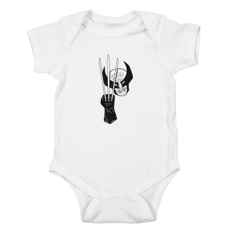 Let's go bub! Kids Baby Bodysuit by Timo Ambo