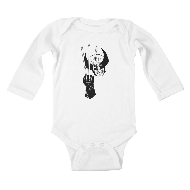 Let's go bub! Kids Baby Longsleeve Bodysuit by Timo Ambo