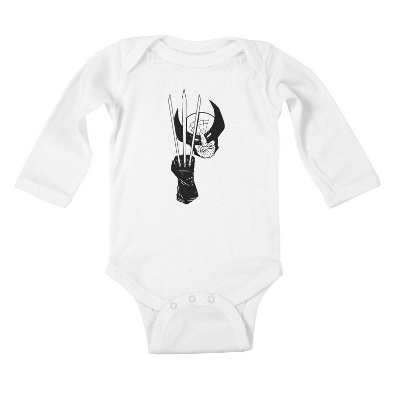 Let's go bub! Kids Baby Longsleeve Bodysuit by Timo Ambo