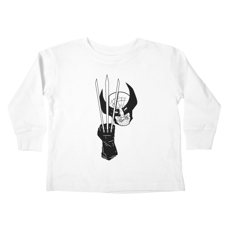 Let's go bub! Kids Toddler Longsleeve T-Shirt by Timo Ambo