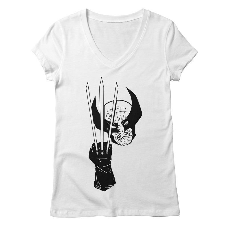 Let's go bub! Women's V-Neck by Timo Ambo
