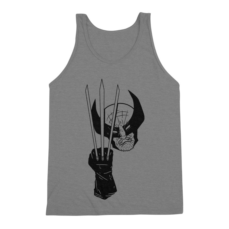 Let's go bub! Men's Triblend Tank by Timo Ambo