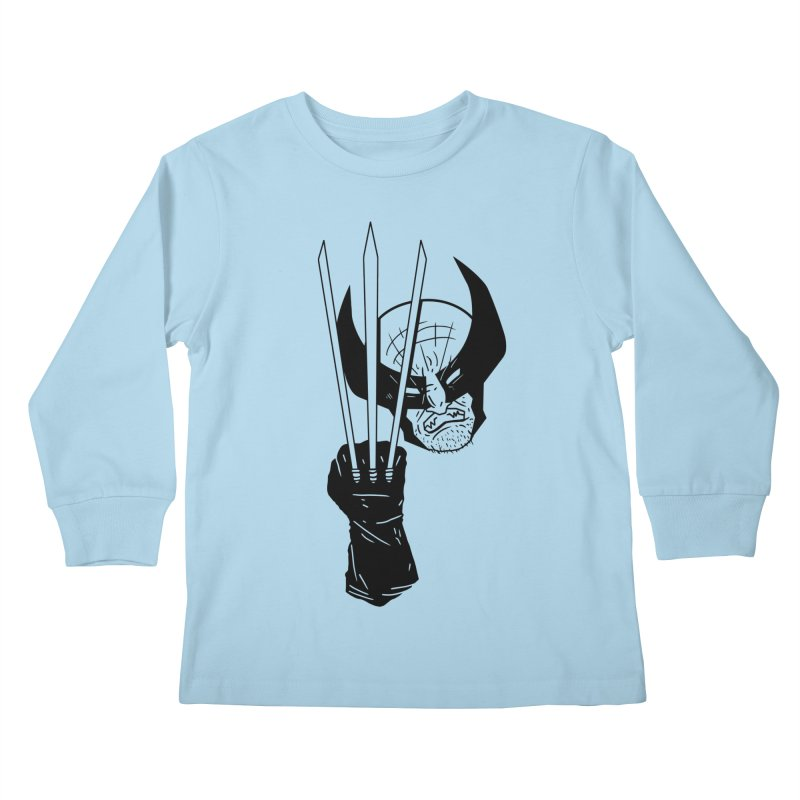 Let's go bub! Kids Longsleeve T-Shirt by Timo Ambo